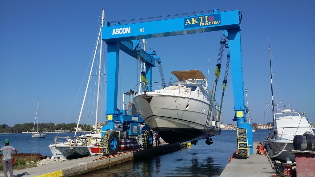 Travel Lift 100 ton Aktio Marina
